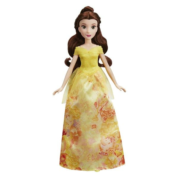 56e35082a5 Κούκλα Disney Princess Royal Shimmer Belle Πεντάμορφη E0274 - Hasbro