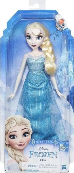 e070d5d118 ΠΑΙΧΝΙΔΙΑ    Φιγουρες Δρασης    Διάφορες Φιγούρες    Κούκλα Disney Frozen  Classic Fashion Elsa Β5162 - Hasbro - kidcity.gr