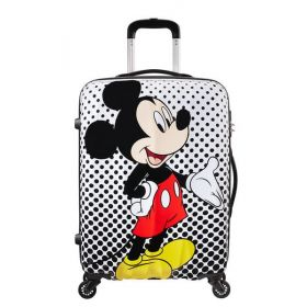 b6a57e66a1 Βαλίτσα Μεσαία Disney Legends Spinner 65cm Mickey Mouse Polka Dot -  American Tourister 64479-7483