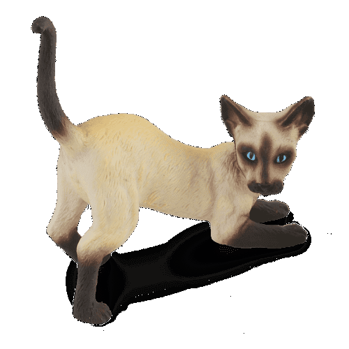 6e4692e6a9ed ΠΑΙΧΝΙΔΙΑ    Μινιατουρες    Γάτες και Σκύλοι    Μινιατούρα Σιάμ Γάτα ...