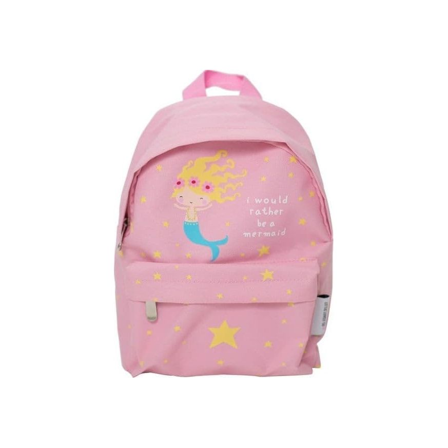 e52ce149b0b Παιδική Τσάντα Πλάτης Mini Backpack Pink Mermaid BPMR008 - A Little Lovely  Company
